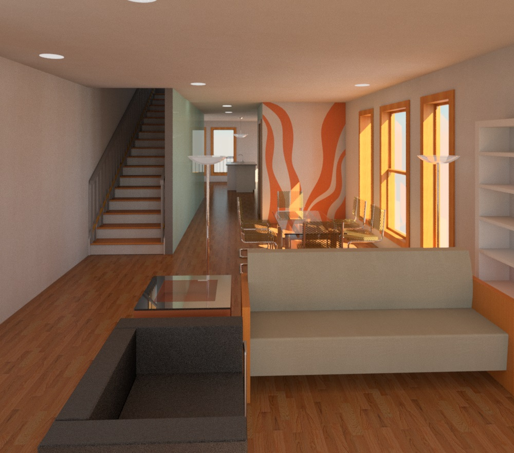 Architectural design rendering by Albino Jr 2
