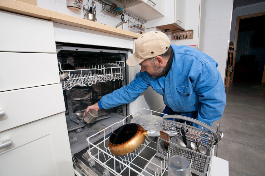 Dishwasher filters can sometimes become clogged