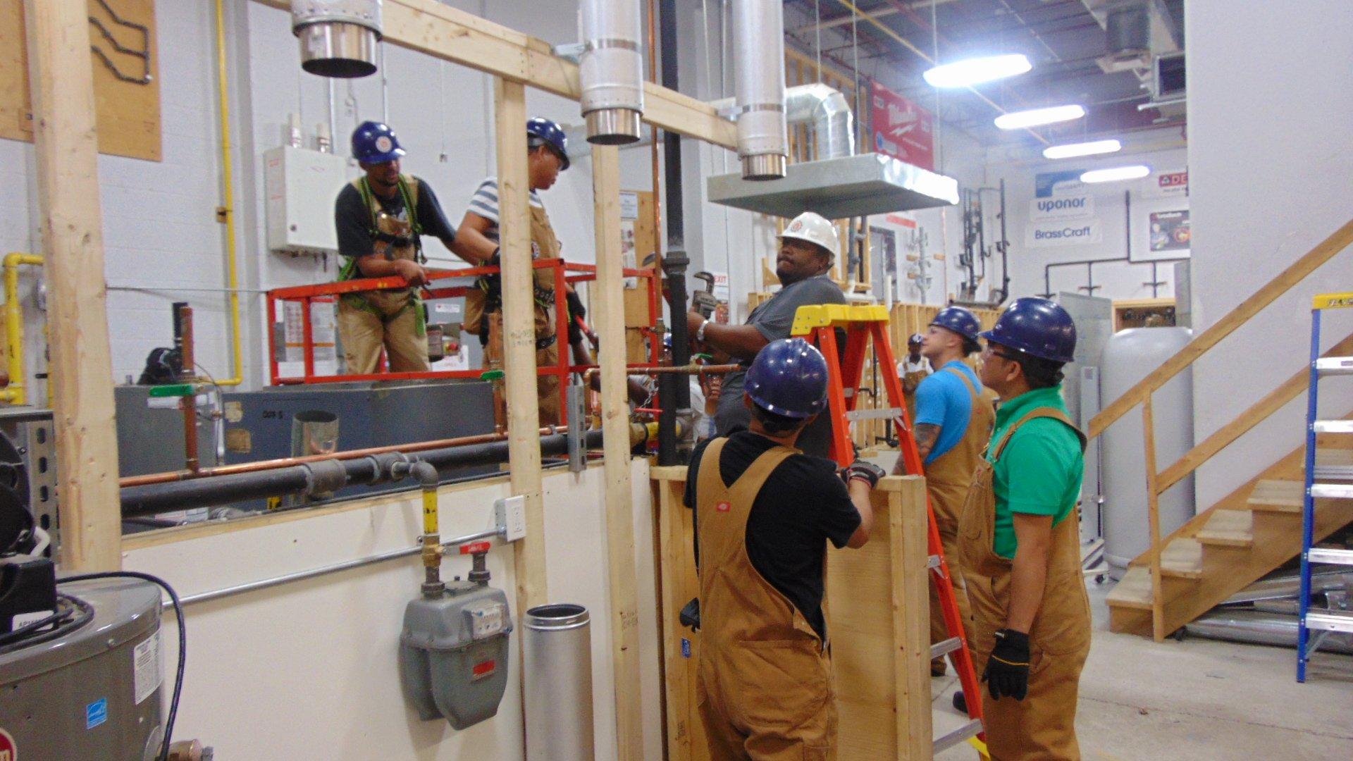 gas technician training program