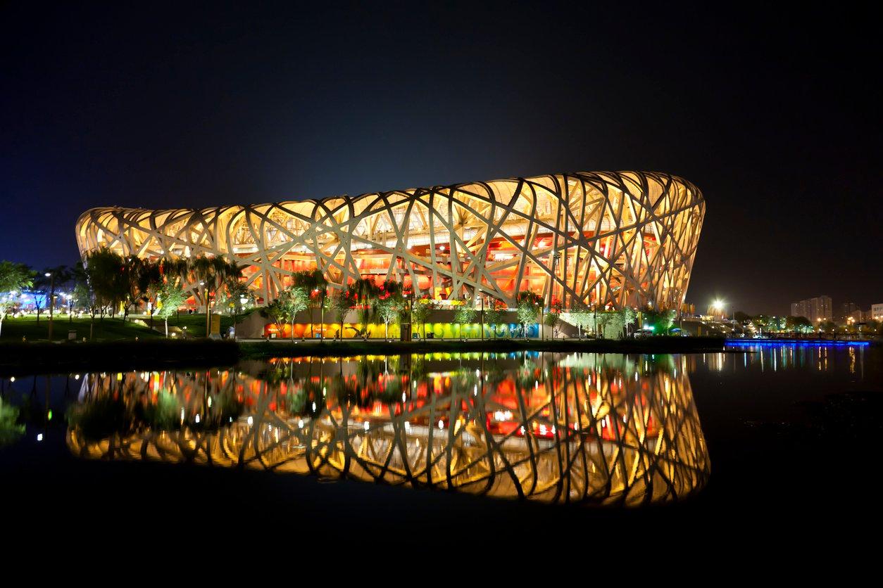 bird nest stadium