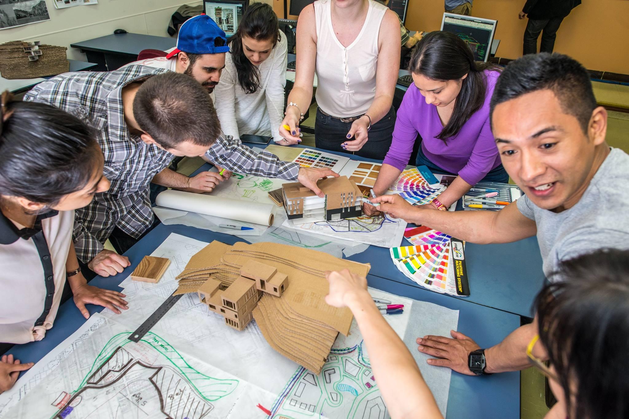 design students at Herzing
