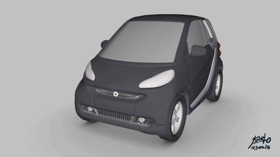 model car Maya