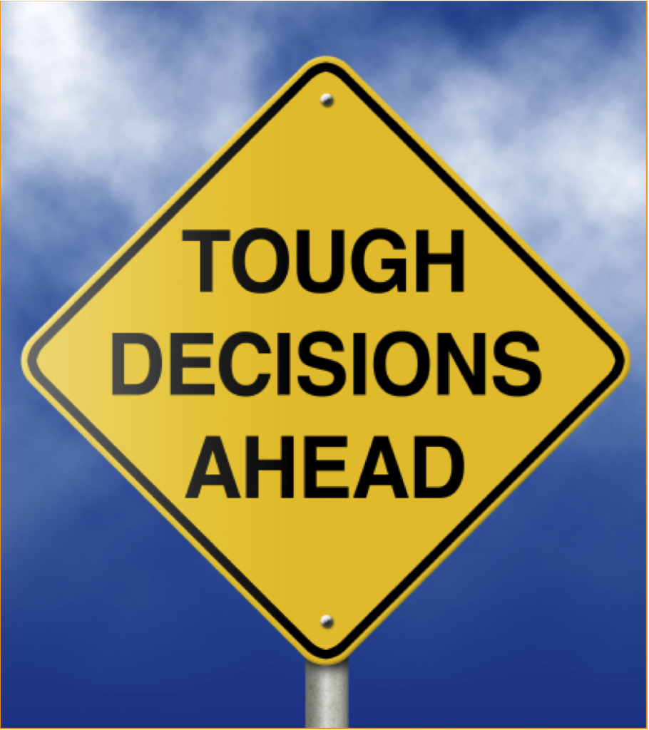 story ideas about difficult decisions