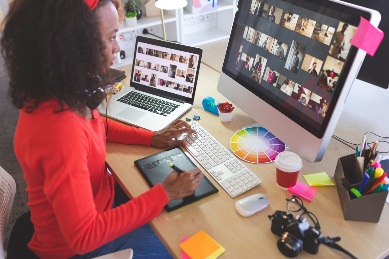 graphic designer daily routine