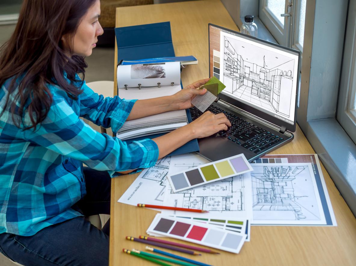 what does an interior designer do job description