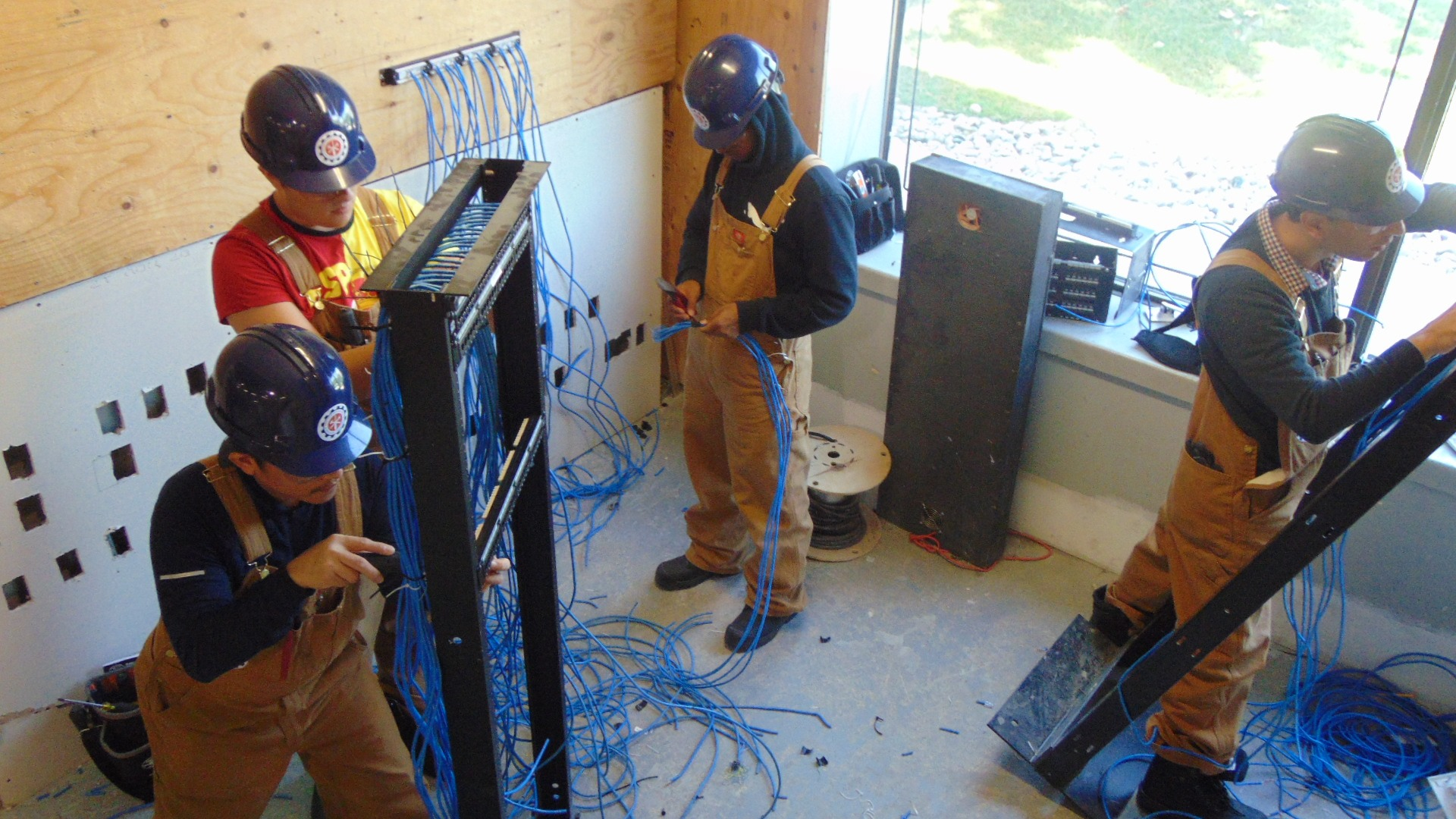 network cabling training at Herzing College