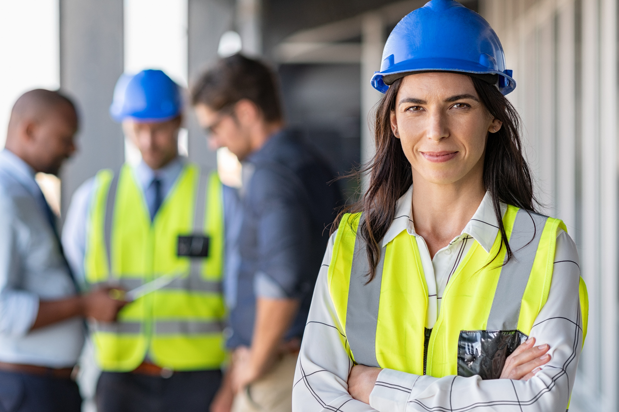 women in skilled trades training